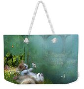 Kitty Wishes Weekender Tote Bag