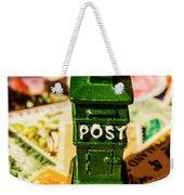 Kiwi Postage Scene Weekender Tote Bag