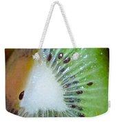 Kiwi Seed Display Weekender Tote Bag