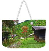 Kiwi Village Of Papua Weekender Tote Bag