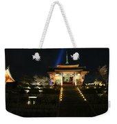 Kiyomizu-dera At Night Weekender Tote Bag