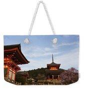 Kiyomizu-dera In Bloom Weekender Tote Bag