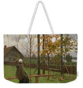 Klever, Yuli The Younger 1882-1942 Autumn Twilight Weekender Tote Bag