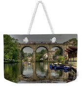 Knaresborough Viaduct Weekender Tote Bag