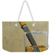 Knife In Glass - After Diebenkorn Weekender Tote Bag