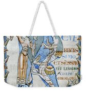 Knight And Monster Weekender Tote Bag
