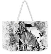 Knight With His Horse Weekender Tote Bag