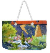 Knights Ferry Bridge Weekender Tote Bag
