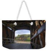 Knights Ferry Covered Bridge Weekender Tote Bag