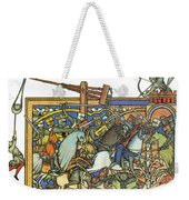 Knights Templar 13th Century Weekender Tote Bag