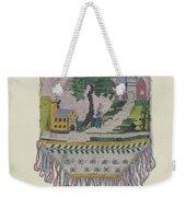 Knit Beaded Bag Weekender Tote Bag