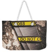 Knives And Clues Weekender Tote Bag
