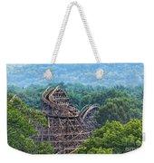 Knobels Wooden Roller Coaster  Weekender Tote Bag