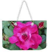 Knockout Rose Surrounded By Buds Weekender Tote Bag
