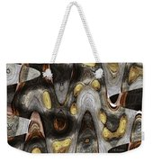 Knot In Old Board Abstract Weekender Tote Bag