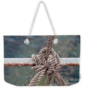 Knot Of My Warf Weekender Tote Bag by Stephen Mitchell
