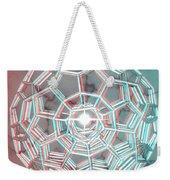Knotplot 3 - Use Red-cyan 3d Glasses Weekender Tote Bag