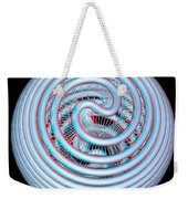 Knotplot 4 - Use Red-cyan 3d Glasses Weekender Tote Bag