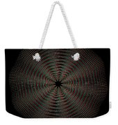 Knotplot 9 - Use Red-cyan 3d Glasses Weekender Tote Bag