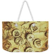 Knots And Buttons Weekender Tote Bag