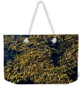 Knotted Wrack Seaweed Floating Atop Weekender Tote Bag