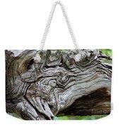 Knotty Tree Weekender Tote Bag