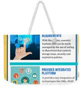 Know About The Benefits Of Using Microsoft Sharepoint 201 Weekender Tote Bag