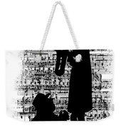 Knowing The Score Transparent Background Weekender Tote Bag