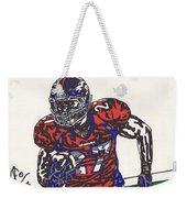 Knowshon Moreno 2 Weekender Tote Bag by Jeremiah Colley