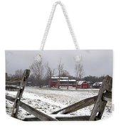 Knox Farm In Winter 0980 Weekender Tote Bag