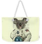 Koala In Space Illustration Weekender Tote Bag