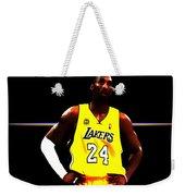 Kobe Bryant Ready For Battle Weekender Tote Bag