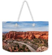 Kodachrome Basin State Park Panorama Weekender Tote Bag