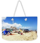 Blue Sky Day In Ocean City Weekender Tote Bag