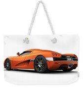 Koenigsegg Ccx Orange Weekender Tote Bag