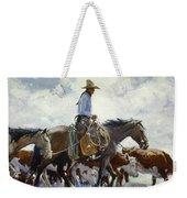 Koerner: Cowboy, 1920 Weekender Tote Bag