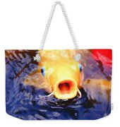 Koi Ahoy Weekender Tote Bag