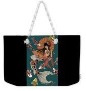 Koi Mermaid 2/4 Weekender Tote Bag