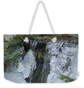 Koi Pond Waterfall Weekender Tote Bag