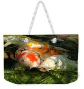 Koi Ripples Weekender Tote Bag