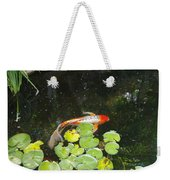 Koi With Lily Pads B Weekender Tote Bag