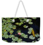 Koi With Lily Pads E Weekender Tote Bag