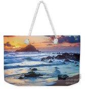 Koki Beach Harmony Weekender Tote Bag by Inge Johnsson