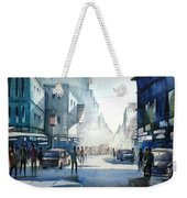Kolkata City Weekender Tote Bag