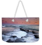 Koloa Sunset Weekender Tote Bag by Mike  Dawson