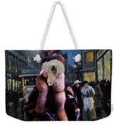 Komondor Art Canvas Print - The Town Night Out Weekender Tote Bag