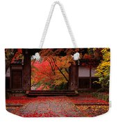 Komyoji Temple  Kyoto Japan Weekender Tote Bag