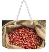 Kona Coffee Bean Harvest Weekender Tote Bag