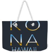 Kona Hawaii Weekender Tote Bag