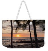 Kona Sunset Weekender Tote Bag by Brian Harig